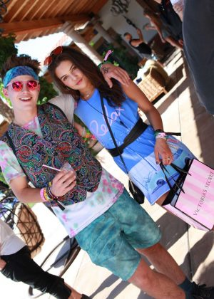 Danielle Campbell - Victoria's Secret's 'Angel Oasis' as 2017 Coachella in Indio