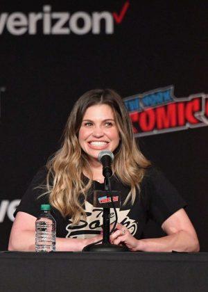 Danielle Fishel - 'Boy Meets World' Panel at 2018 New York Comic Con