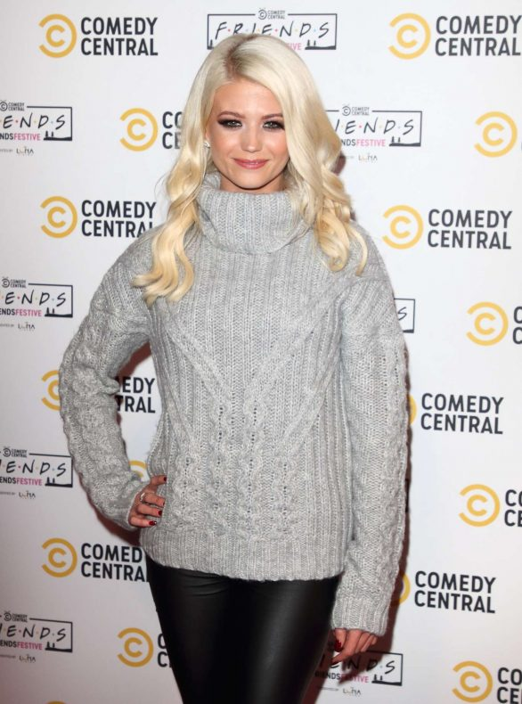 Danielle Harold - Comedy Central Friends Festive Exhibition Launch in London