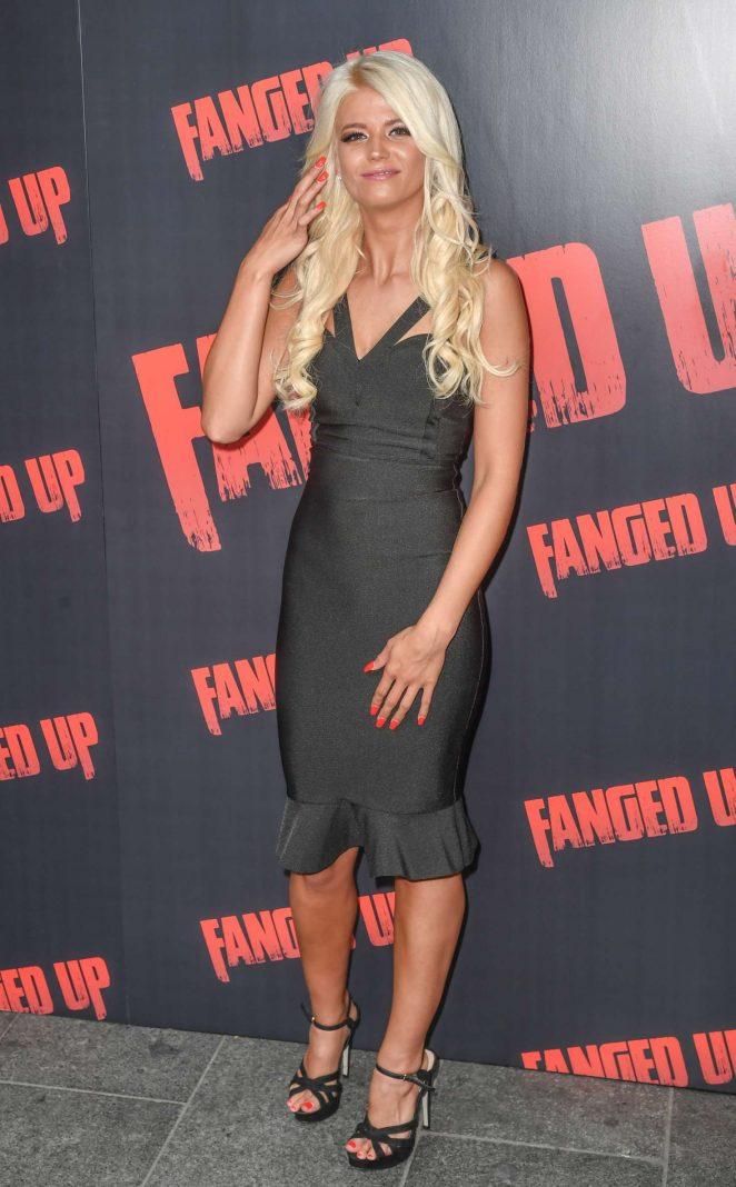 Danielle Harold - 'Fanged Up' Premiere in London