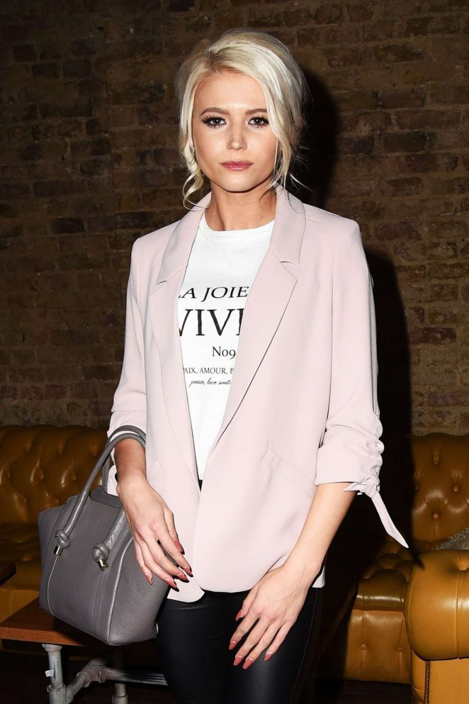 Danielle Harold - Hereford Television Launch Party in London