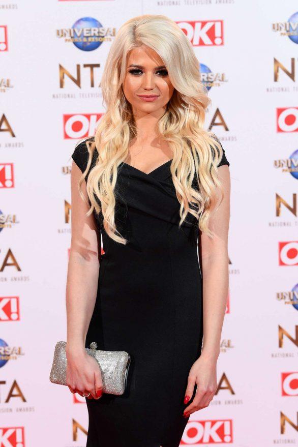 Danielle Harold - National Television Awards 2020 in London