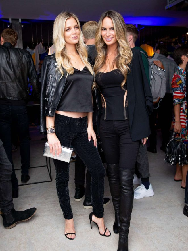 Danielle Knudson - Perry Ellis America Launch Event in New York