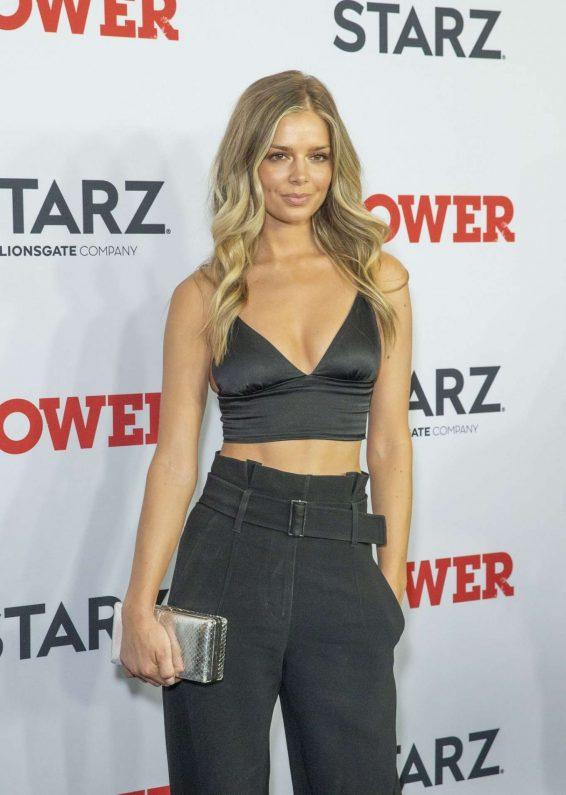 Danielle Knudson - 'Power' TV Show Final Season Premiere in New York
