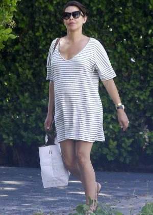 Danielle Lineker Shopping at Superfoods in West Hollywood