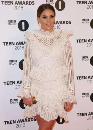 Danielle Lloyd - BBC Radio 1 Teen Awards 2018 in London