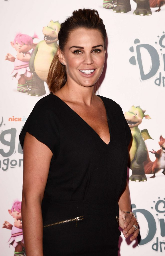 Danielle Lloyd - 'Digby Dragon' Premiere in London