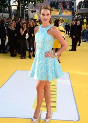 Danielle Lloyd - 'Minions' Premiere in London