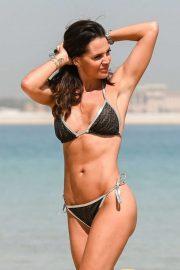 Danielle Lloyd on holiday in Dubai