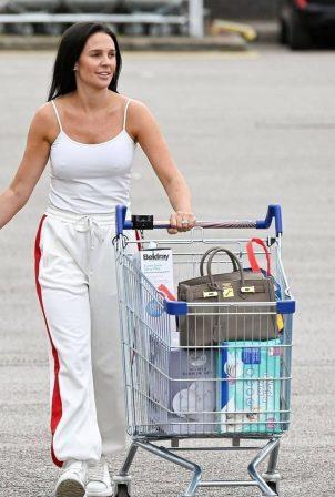 Danielle Lloyd - Shopping in Birmingham