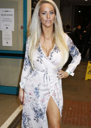 Danielle Mason - Arrives at Celebrity Boxfresh Charity Boxing Match in London