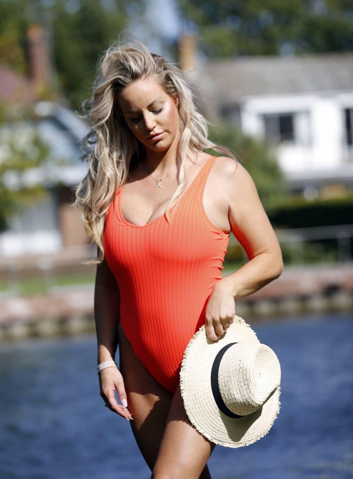 Danielle Mason - Posing in swimsuits