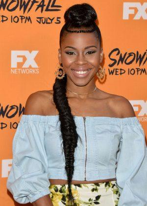 Danielle Mone Truitt - 'Snowfall' Premiere in Los Angeles