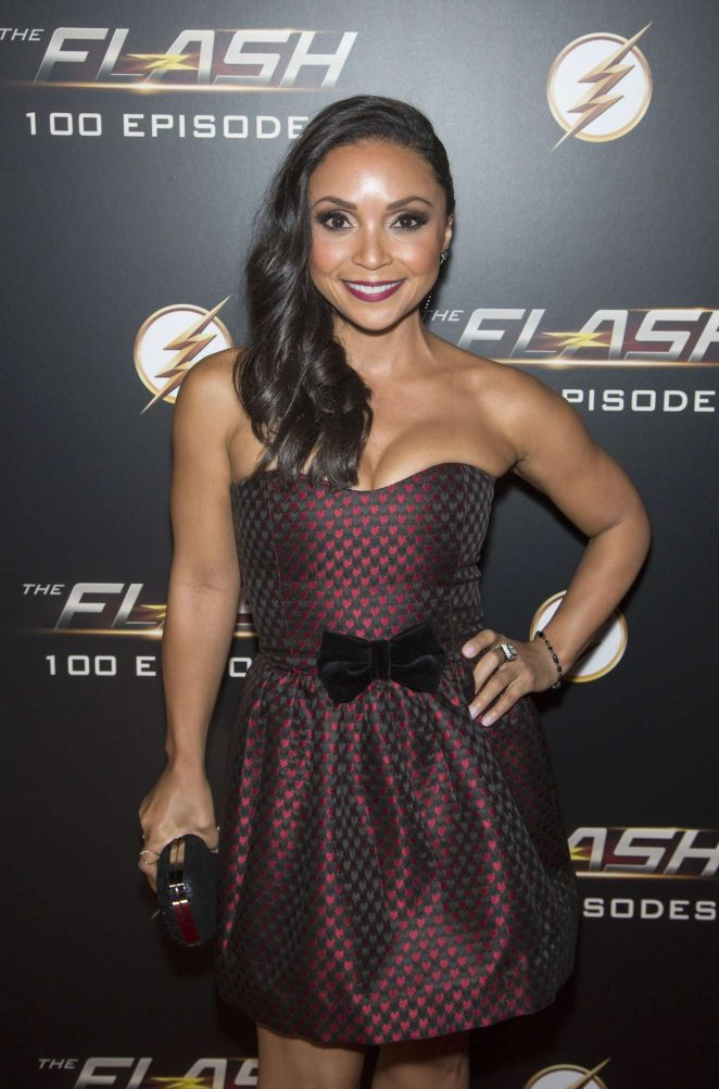 Danielle Nicolet – Celebration Of 100th Episode of CWs 'The Flash' in LA