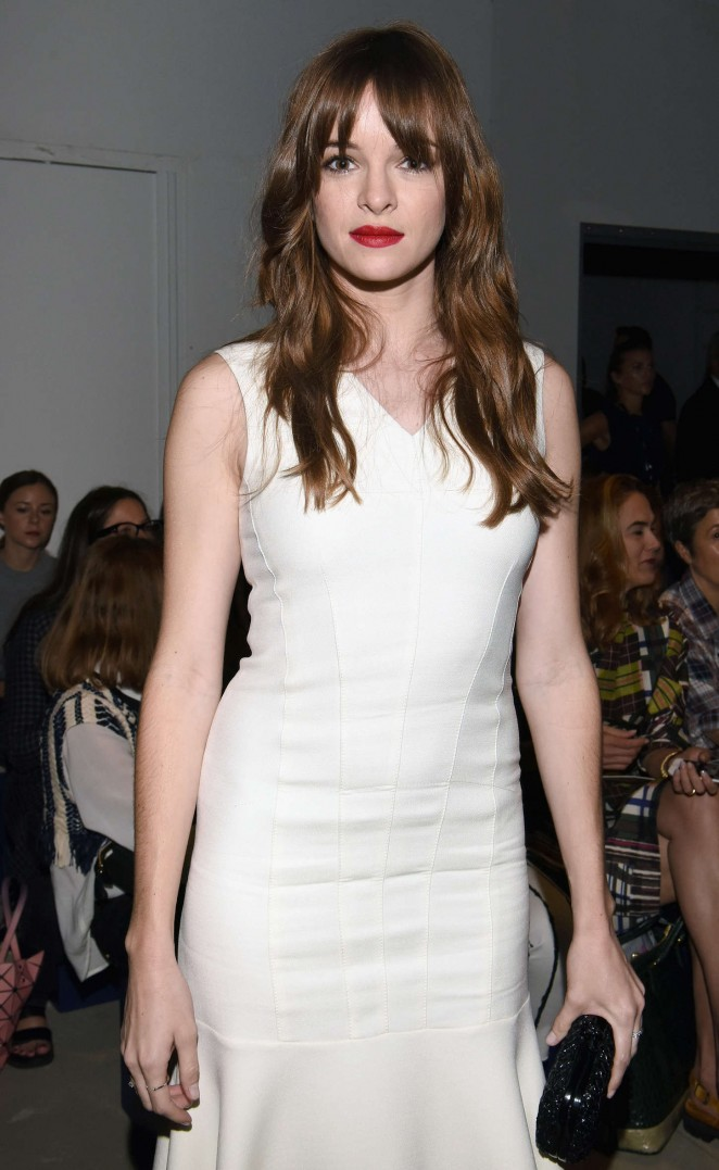 Danielle Panabaker - Derek Lam Fashion Show Spring 2016 NYFW in NYC