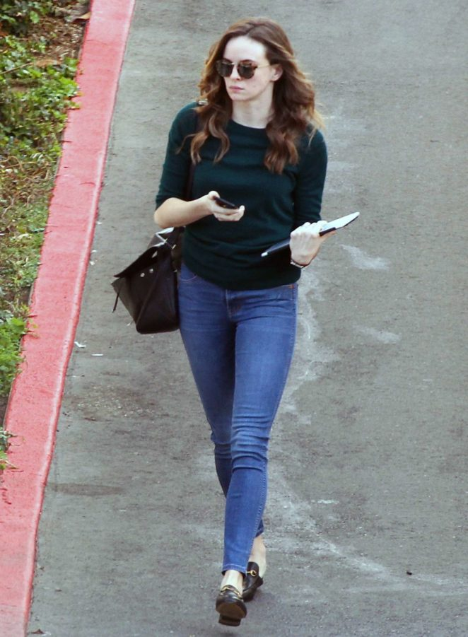 Danielle Panabaker in Jeans out in West Hollywood