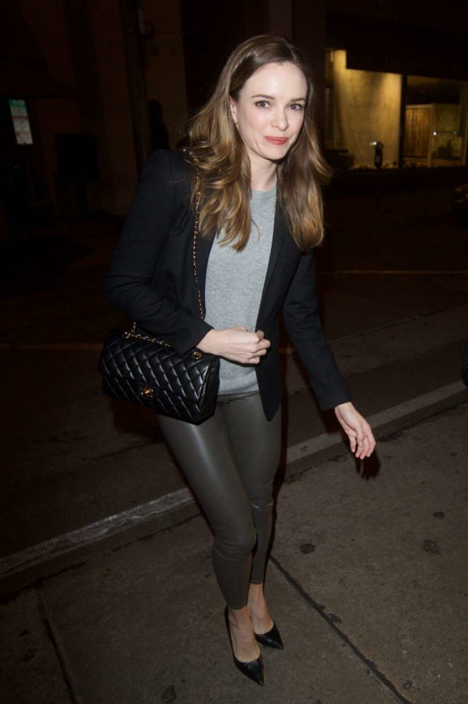 Danielle Panabaker – Leaving Craig's in West Hollywood