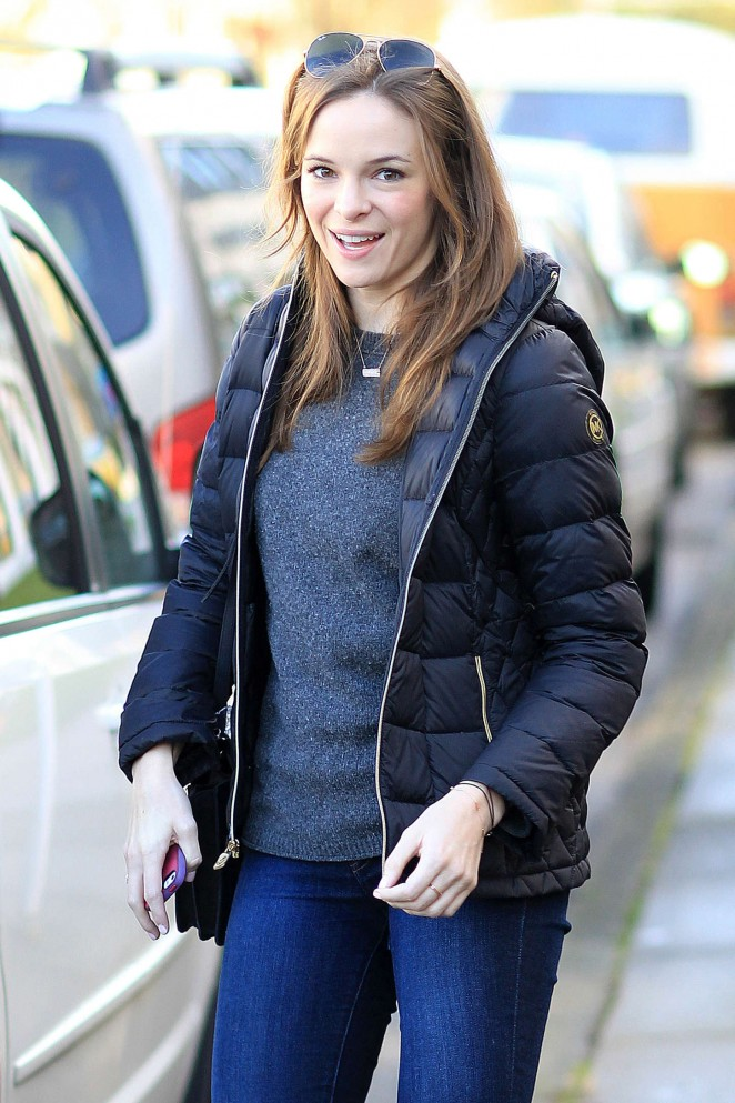 Danielle Panabaker in Jeans out in Vancouver
