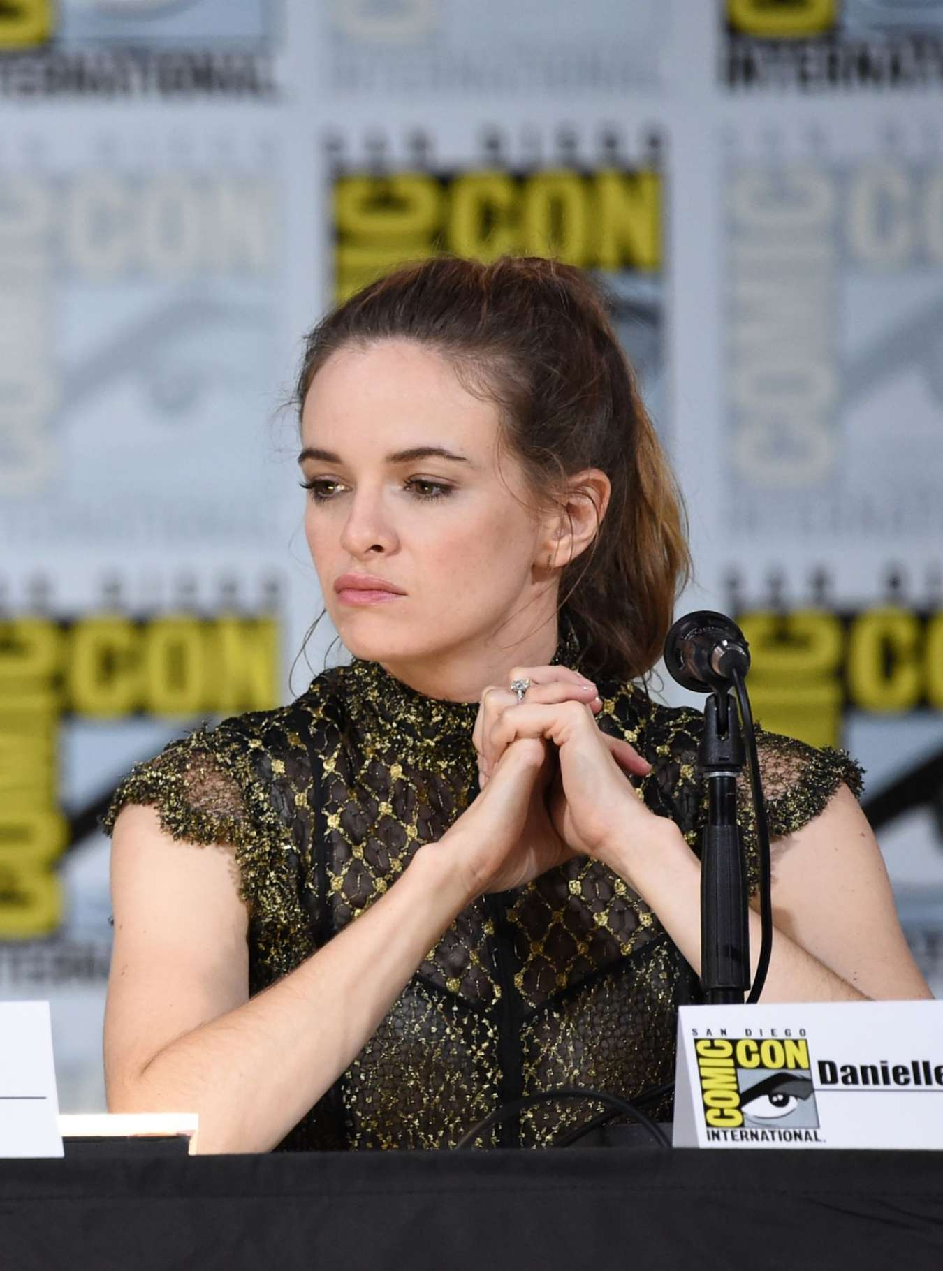 Danielle Panabaker - The Flash Movie Panel at Comic-Con 2017