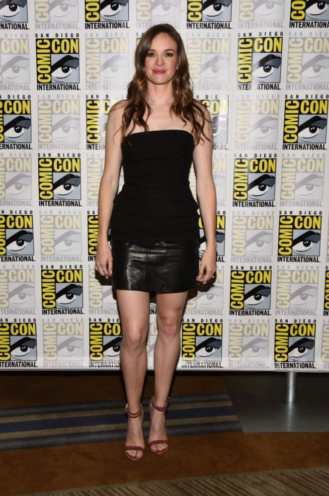 Danielle Panabaker - 'The Flash' Panel at 2018 Comic-Con in San Diego