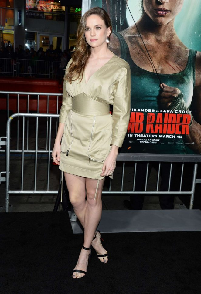 Danielle Panabaker – 'Tomb Raider' Premiere in Hollywood