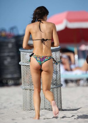 Danielle Peazer Bikini Photoshoot For Tenzenis In Miami