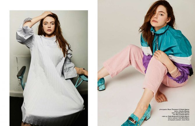 Danielle Rose Russell for Schon Magazine 2018