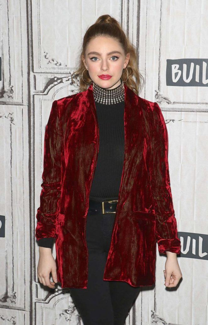 Danielle Rose Russell - Visits AOL Build Series in New York City