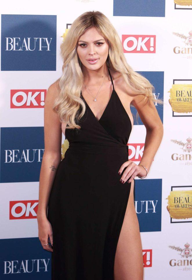 Danielle Sellers - 2017 Beauty Awards in London