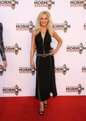 Danielle Spencer – The Book of Mormon Opening Night in Sydney | GotCeleb