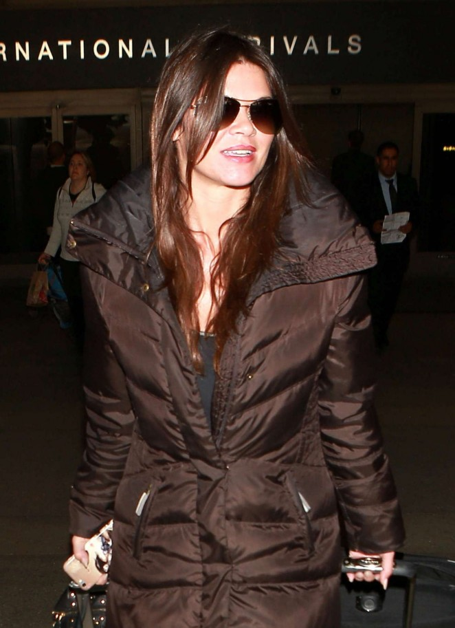 Danielle Vasinova - Arrives at LAX Airport in Los Angeles