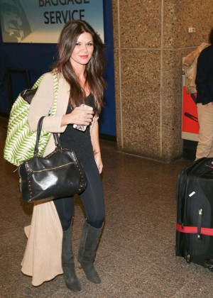 Danielle Vasinova - Arriving at SLC Airport for Sundance Film Festival