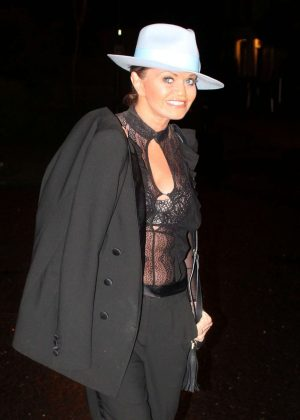 Danniella Westbrook - Night Out in Essex