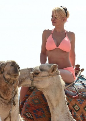 Danniella Westbrook in Bikini in Egypt