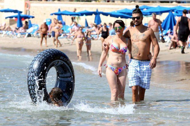 Danniella Westbrook - Wearing Bikini in Ibiza