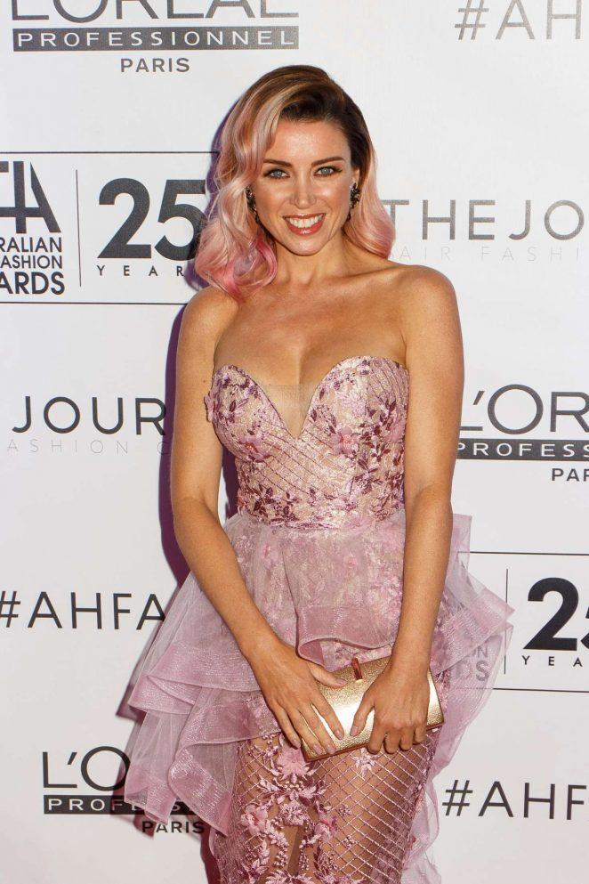 Dannii Minogue - Australian Hair Fashion Awards 2017 in Sydney