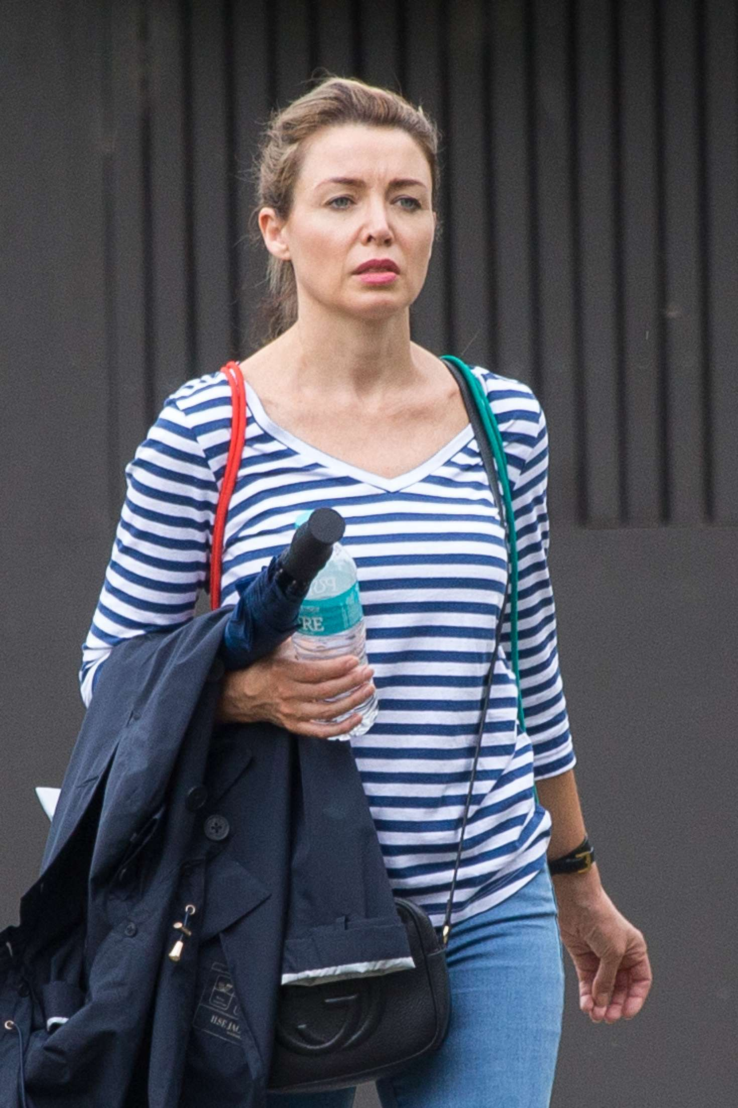 Dannii Minogue out and about in Melbourne