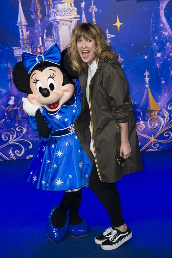 Daphne Burki - Disneyland 25th Anniversary Celebration in Paris