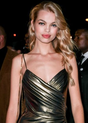 Daphne Groeneveld - L'Oreal Gold Obsession Party 2016 in Paris