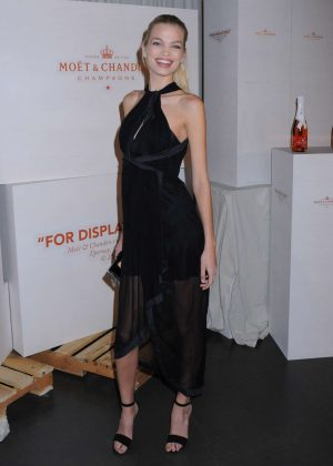 Daphne Groeneveld - Moet & Chandon and Virgil Abloh New Bottle Collaboration Launch in NYC