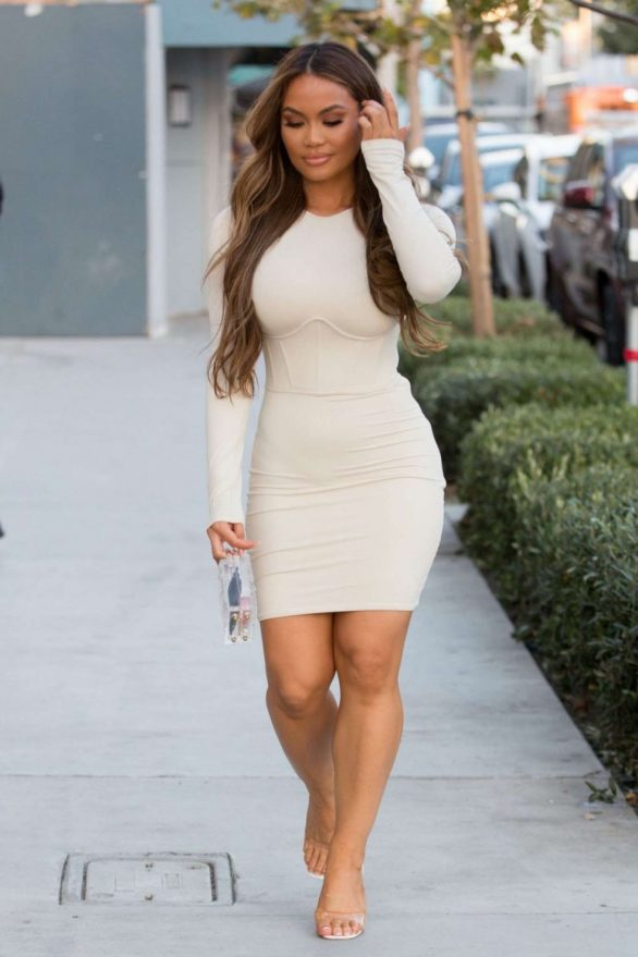 Daphne Joy - Arrives at a PrettyLittleThing Event in West Hollywood