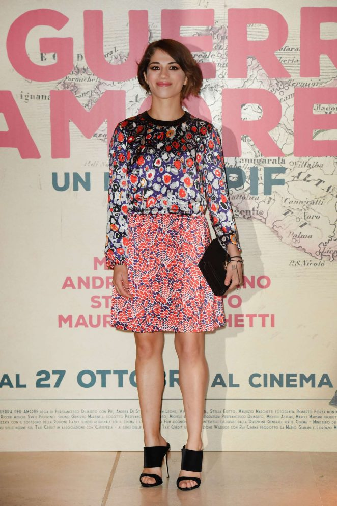 Daphne Scoccia - 'In The War For Love' Premiere at 2016 Rome Film Festival