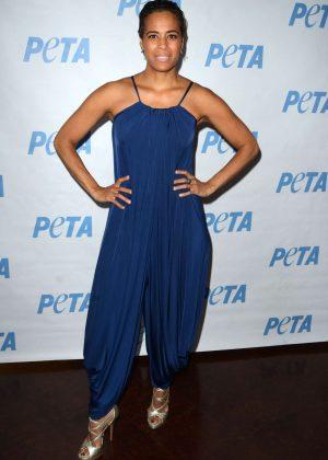 Daphne Wayans - LA Launch Party for Prince's PETA Song at PETA in Los Angeles