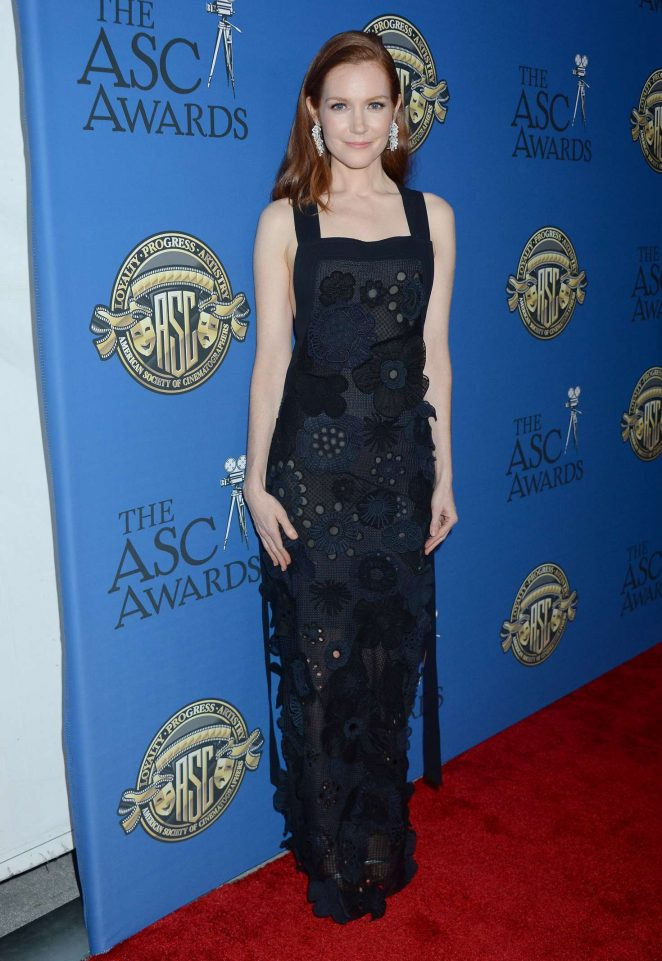 Darby Stanchfield - 31st Annual ASC Awards for Cinematography in Hollywood