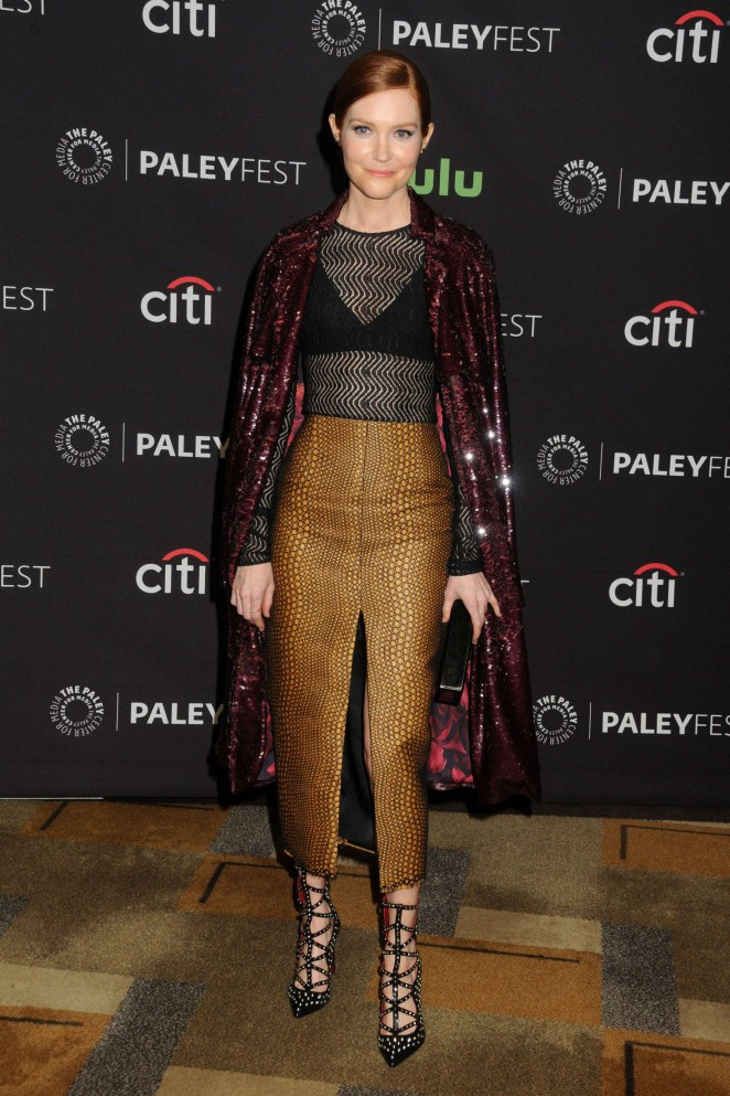 Darby Stanchfield – 33rd Annual PaleyFest 'Scandal' in