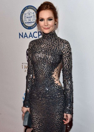 Darby Stanchfield - 2016 NAACP Image Awards in Pasadena