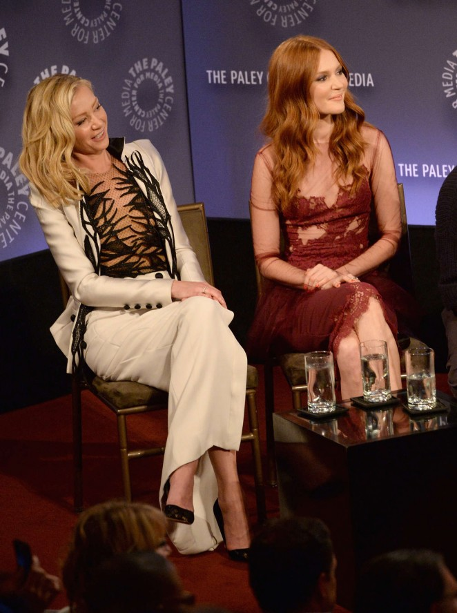 Darby Stanchfield an evening with the cast of Scandal -02