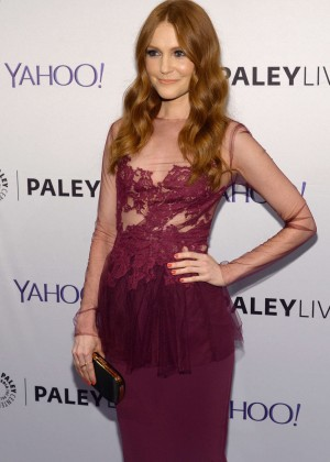 Darby Stanchfield an evening with the cast of 'Scandal' in NYC