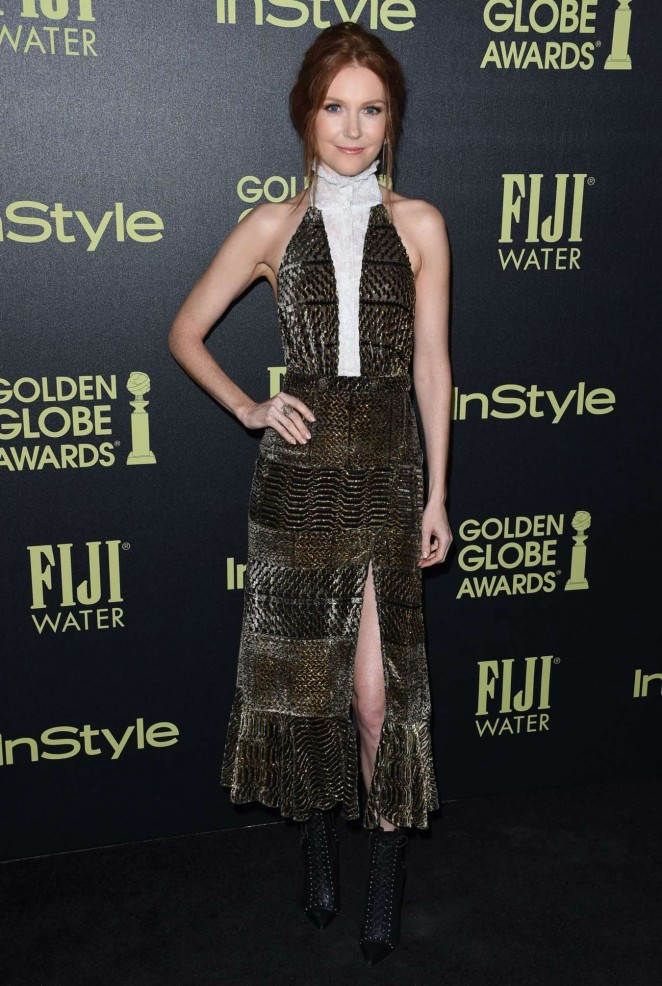 Darby Stanchfield – HFPA And InStyle Celebrate The 2016 Golden Globe Award Season in West Hollywood