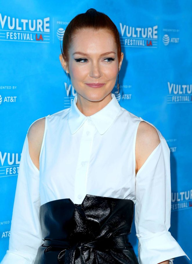 Darby Stanchfield - 'Scandal' Panel at 2017 Vulture Festival in Los Angeles